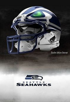 Seahawks bad ass Helmet