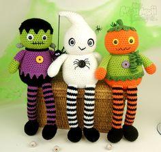 Halloween Longlegs Dolls by Moji-Moji Design
