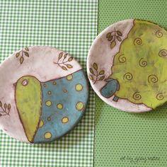 small ceramic plates - Giosy Matteu