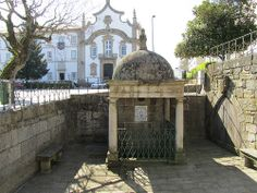Old Fountain #Viseu #Portigal