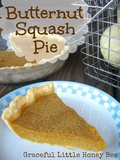 Squash Pie This pie is a great alternative to pumpkin especially if you've grown the squash yourself!This pie is a great alternative to pumpkin especially if you've grown the squash yourself! Pie Recipes, Dessert Recipes, Cooking Recipes, Pumpkin Recipes, Healthy Desserts, Pumpkin Dishes, Healthy Eats, Yummy Recipes, Cooking Tips