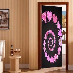Black Home D/écor Usstore 1PC Cute Pineapple Decals Decoration For Bedroom living bathroom House Shop Office Windows Decor Ornament