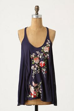 $88 Lowland Rugosa Tank, if you were mine I'd make big plans for you. ;)  Anthropologie, of course.