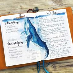 51 Amazing Ocean Bullet Journal layouts to delight YOU! ocean bullet journal layout ideas The post 51 Amazing Ocean Bullet Journal layouts to delight YOU! appeared first on Ikea ideen. Bullet Journal Period Tracker, Bullet Journal Daily Spread, Bullet Journal Spreads, Bullet Journal 101, Bullet Journal Writing, Bullet Journals, Journal Quotidien, Watercolor Journal, Watercolour