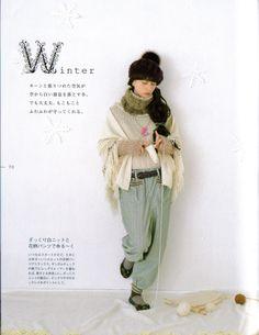 Choco's Mori Girl Fashion and Style Book  #morikei, #mori, #forestgirl, #winter