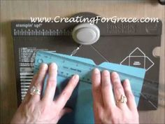 ▶ Stampin'Up! Envelope Punch Board & Liner - YouTube