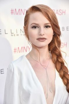 Actress Madelaine Petsch attends the Maybelline New York celebration of their latest collection with an LA beauty bash hosted By Gigi Hadid with celebrity makeup artist Erin Parsons at The Line Hotel on June 3, 2016 in Los Angeles, California.