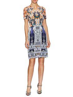 Silk Print Cocktail Dress by Mary Katrantzou at Gilt