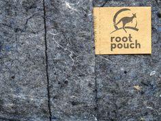 Root Pouch ''16 L grau''. Pflanztasche aus recycelten PET-Flaschen. Umweltfreundlich und exquisit. #UrbanGardening