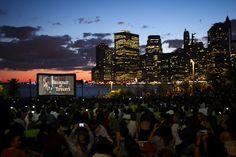 Brooklyn Bridge Park cinema!