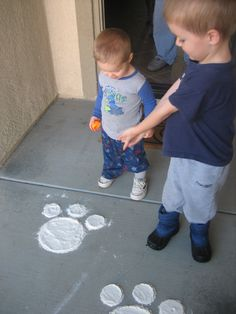 I do this every Easter at my front door. My parents did it for me. It's just a hand made cardboard cutout and flower.