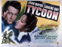 John Wayne Laraine Day film Tycoon 35m-2456
