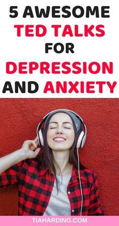5 amazing ted talks to improve your mental health #tedtalks #mentalhealth tiaharding.com