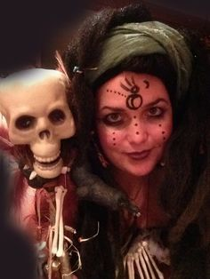 """""""I will find you..."""" - Voodoo Queen Marie-Evella Celestine  Come read the rest of the short story with lots more photos on my site.   #voodoo #voodooqueen #costume #halloween #handmade #costumeideas"""