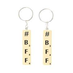 Scrabble BFF Keyrings