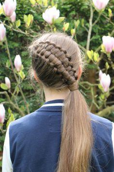Zipper braid by yiyayellow :)