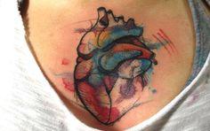 Tatuajes de Acuarela, cuando el arte se convirtió en una moda