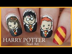 This Woman's Harry Potter Nail Art Tutorial Is Straight Up Magical (VIDEO) | Pixable