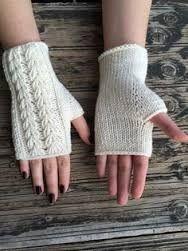 Resultado de imagem para luvas  sem dedo trico