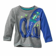 Jumping Beans Race Track Tee - Baby