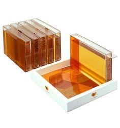 Unknown Honey Packaging via The Dieline