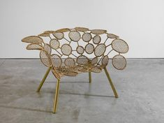One of the chairs in the Racket Collection by Campana Brothers