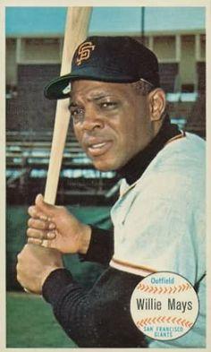 1964 Topps Giants (Mays) Giants Baseball, Baseball Players, Baseball Cards, San Francisco Baseball, San Francisco Giants, Giant Card, Virtual Card, Sports Gallery, Willie Mays