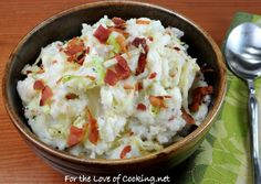 Colcannon - Perfect for St. Patrick's Day!