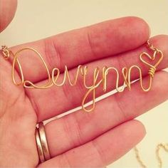 gift ideas!! custom gifts for christmas.. birthday.. mothers day? Cheap Jewelry Accessories – Custom Name $14