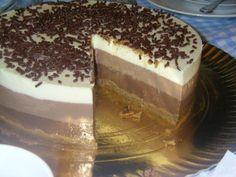 Tarta Rapida de Tres Chocolates