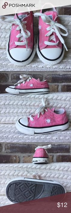Converse One Star Infant size 6 Converse One Star. They have been very worn and loved. Converse Shoes Sneakers