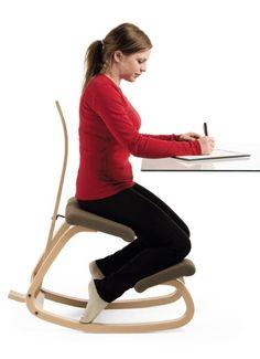 Variable balans kneeling chair by Varier | Ergo Depot