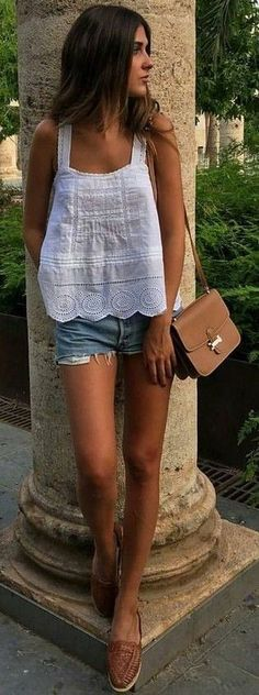 #summer #lovely #outfits | Summer Basics