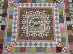 Susan Ambrose's interpretation of the early 19th-century Sidmouth quilt.