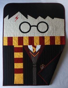 This beautiful, handmade quilt. | Literally Just A Bunch Of Harry Potter Stuff Your Baby Needs