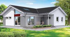 lv Mājas, vasarnīcas - Cēsis un raj. My House Plans, Small House Plans, Roof Design, House Design, Bungalow, Casa Disney, L Shaped House, Rustic Home Design, Wood Home Decor