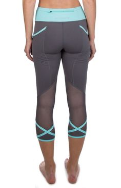 Work for it, lift for it, run for it, sweat for it! Be your best in the Anything But Basic Leggings! We coupled a sporty, feminine design with high-performance construction to create leggings that can take on your toughest workout. Mesh paneling, a crisscrossed hem detail, and a contrasting, reinforced waistband add a