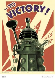 Dr who Retro Poster