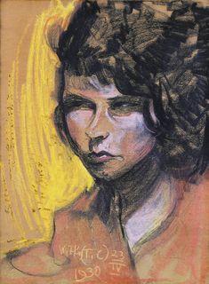 """Witkacy, """"Irena Fedorowicz's Portrait"""", 23.04.1930"""