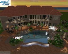 1000 images about 3d pool design portfolio on pinterest for Design my own pool