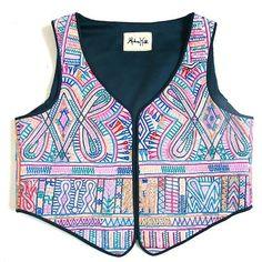 Indian, Rabari embroidery,vest, waistcoat