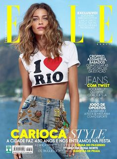Ana Beatriz Barros - Elle Magazine Cover [Brazil] (March 2015)
