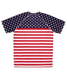 camiseta running hombre stars and stripes bandera EEUU Hoopoe Running Apparel. #hoopoerunning #usa #fancyshirts #runwithstyle #starsandstripes