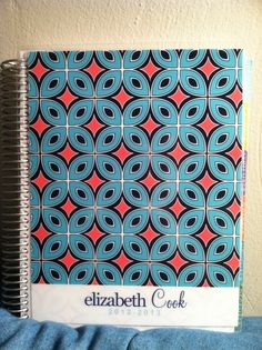 Absolutely obsessed with my new @erincondren planner!!