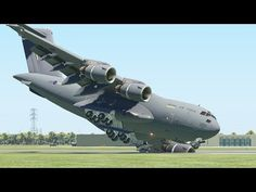 Worst Military Aircraft Emergency Landing From New Pilots | X-Plane 11 - YouTube