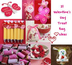 21 treat bag ideas for Valentine's Day