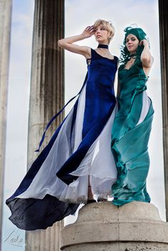 Princesses Uranus and Neptune Cosplay