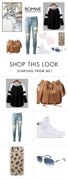 """""""Untitled #484"""" by grateful-angel ❤ liked on Polyvore featuring rag & bone, Moschino, Casetify and Tom Ford"""