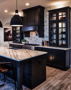 The 2014 Kitchen Of The Year House Black Kitchen