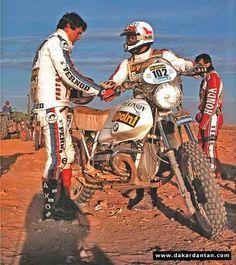 Auriol, Loizeaux - Paris Dakar 1982